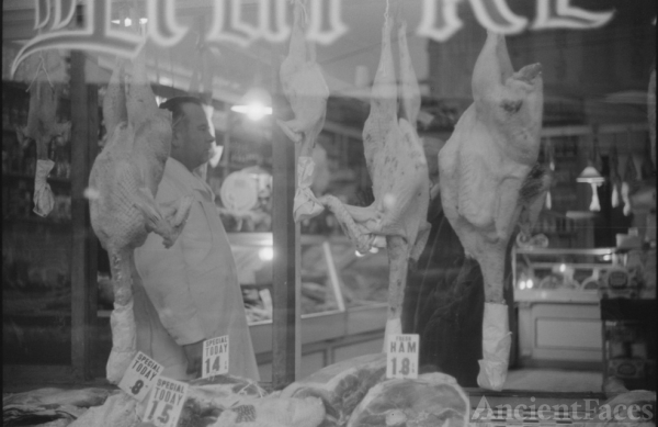 Frank Delano's Thanksgiving Butcher