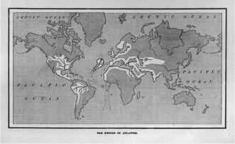 The empire of Atlantis [map]