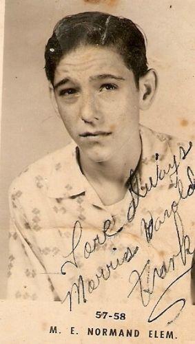 Morris Harold Franks, 1957