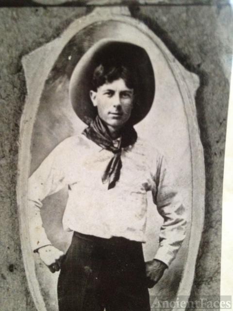 Unknown man, 1912