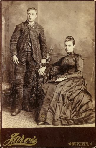 Unknown couple, Canada