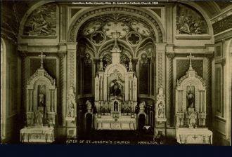 St. Joseph's Catholic Church Alter, 1908