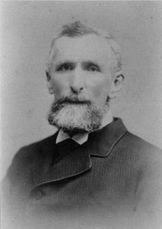 A photo of Frederick Wilson