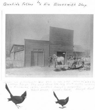 Peart Blacksmith Shop in Richmond, Ut.