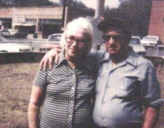 Nora LaRue Badger & Uncle Jim VanDyke