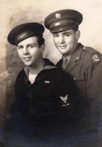 Henry Seibert and Kenneth Seibert, WW II