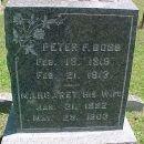 Peter F. & Margaret Bobb Gravesite, WI