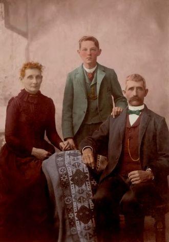 Abraham J. Baughman Family