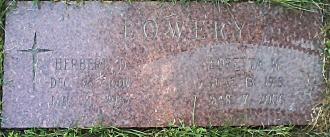 Herbert and Loretta M. (Kleaver) Lowery Gravesite