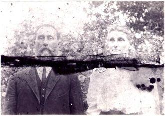 Daniel & Martha Dowie O'Quinn, 1884