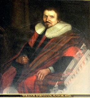 William Barnham, England c1700