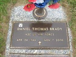 Daniel Thomas Brady Gravesite