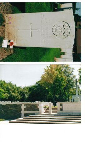 Edwin George Jeffries gravesite