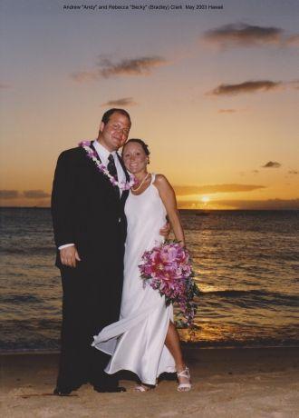 Andrew and Rebecca Clark, 2003