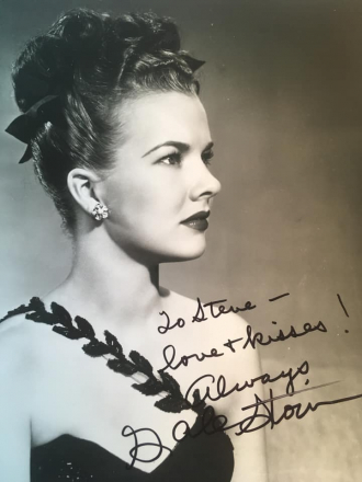 Personal Gift to Steve Randisi from Gale Storm.