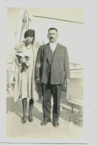 Bruno & Anna L. Heidke, 1926