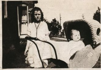 Patty and Baby Mary