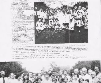 Names of those in Kroetsch reunion picture