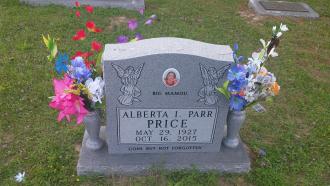 Alberta Irene (York) Parr
