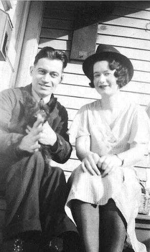 A photo of Ethel Rosina (Tasker) Allen