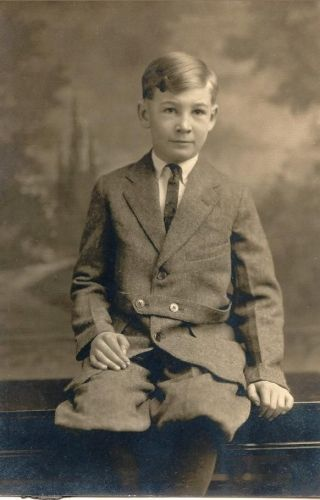 William Glen Cornwell, about 9