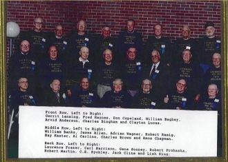Killen Reunion - old shipmates!