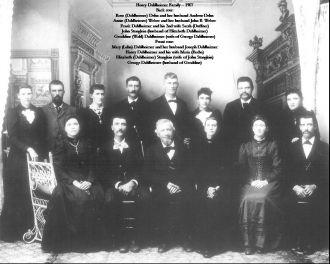 Henry & Mary (Raiche) Dahlheimer family
