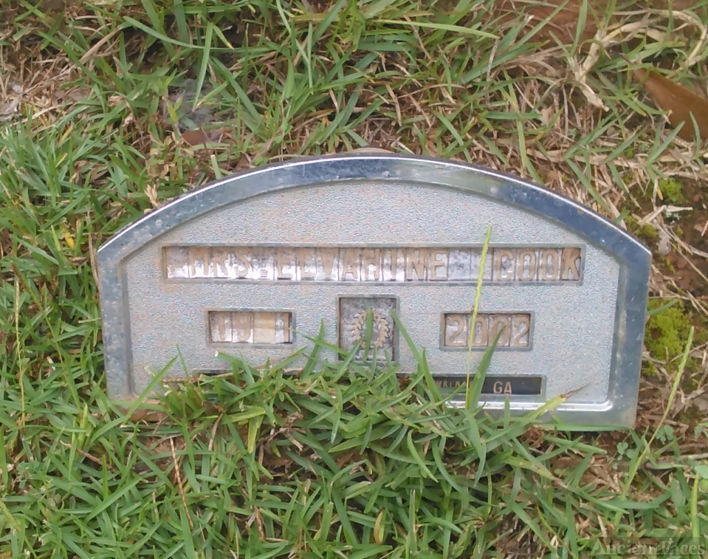 Elvaphine (Kirby) Cook gravesite