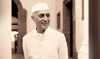A photo of Jawarharlal Nehru