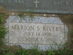 Marion Rivers Gravesite