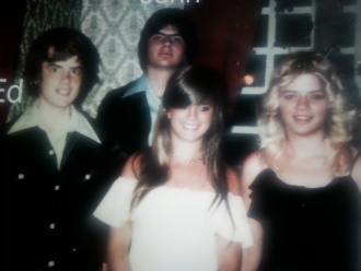 Siblings (Nancy, Marsha, Johnny and Edward)