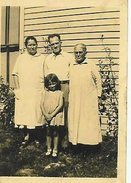 Four Generations of Carrs in Indiana