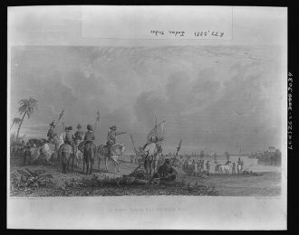 De Soto -- Tampa Bay, Florida--1539 / Drawn by Capt. S....