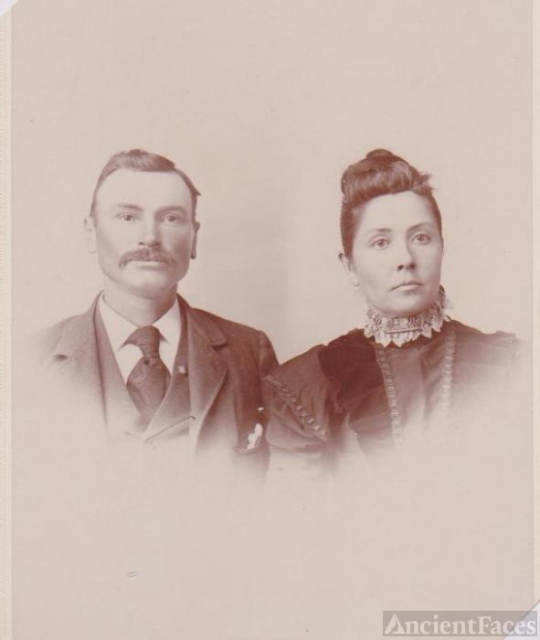 Sarah Buffington  & husband