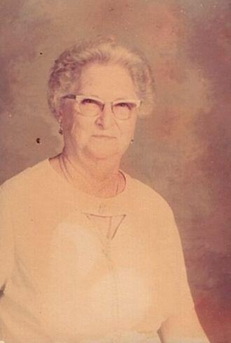 A photo of Hattie (Kirchoff) Dettmer