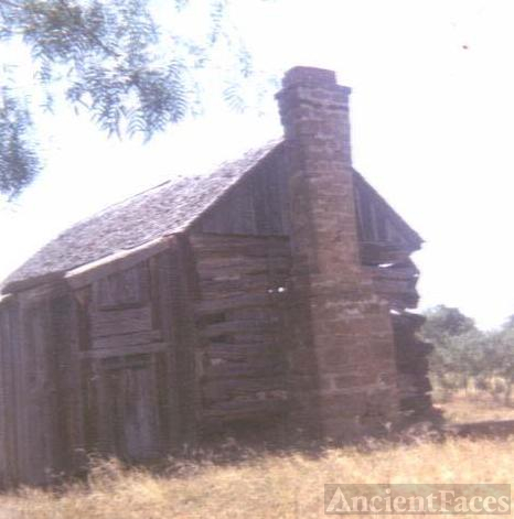 Old Perry home in Pontotoc, Texas