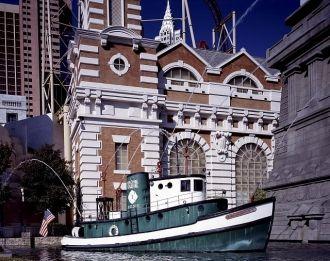 New York casino fireboat in Las Vegas, Nevada