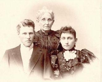 Samuel Herbert Kerr, mother and wife