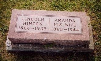 A photo of Abraham Lincoln  Hinton
