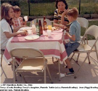 Bradley Family Members c.1971