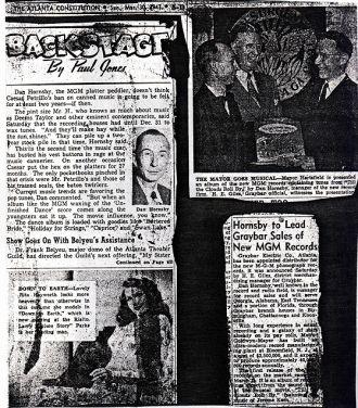 Dan (Issac Dan) Hornsby, GA 1947