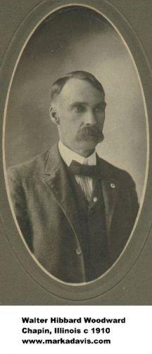 Walter Hibbard Woodward, 1910