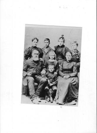 Hugh Rysley and Martha  and Children