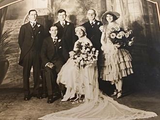 Wedding of my parents - Arthur Lavallee and Florina Boisvert