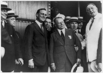 Franklin D. Roosevelt and Governor Cox