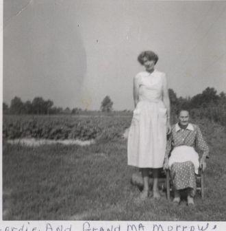 Mary Cordy Morrow and Mary Biles