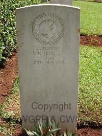 Victor Gerald Bissett gravesite