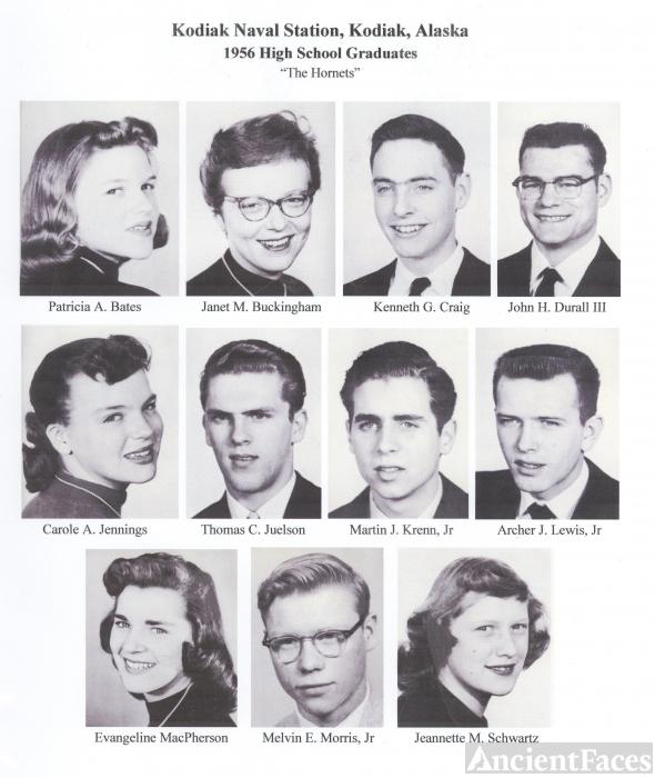 1956 Kodiak Naval Station High School