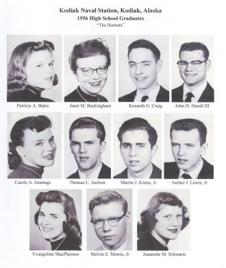 1956 Kodiak Naval Station High School