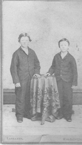 Unknown boys Kendallville, Ind